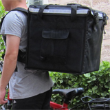 "PK-64V: Rider delivery bags, road runner bags, cyclist's backpacks, food backpacks, 16"" L x 16"" W x 16"" H"