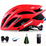 PK-H1: Rider Helmet for Food Delivery, together with Glove, Glasses, Helmet Bag, Scarf, free shipping