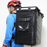 "PK-85A: Comfortable, reliable, weatherproof, heat insulating backapck for courier, 16"" L x 13"" W x 24"" H"