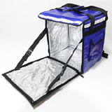 "PK-65AB: Thermal insulated food delivery bag backpack, keep hot, keep cold, 16"" L x 12"" W x 18"" H"
