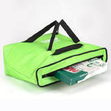 "PK-55A: Insulated pizza delivery bags near me, custom pizza delivery backpacks, 18"" L x 18"" W x 7"" H"