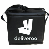 "PK-21U: Deliveroo delivery bags, handbags for Chinese food delivery, thermal bags, 12"" L x 8"" W x 11"" H"