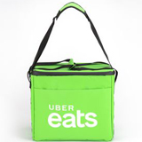 "PK-31A: Uber Food delivery hot and cooler bags, ubereats handbags, keep food hot, 16"" L x 9"" W x 13"" H"