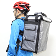 PK-33AG: Food delivery carrier to keep food hot, beverage delivery bags, milk takeout