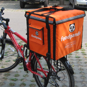 PK-64C: Food delivery boxes for keep hot, cake delivery bag, Foodpanda bike bags