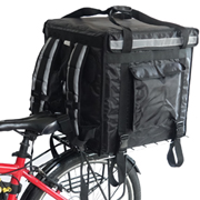PK-92V: Insulated food delivery bag, premium large commercial food box for motorcycle