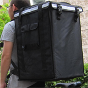 PK-96V: Extra large insulated food bag with collapsible transport, food delivery bags